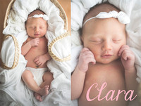 Print Collection - Clara Newborn